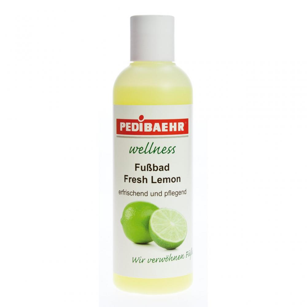 Pedibaehr Wellness Fußbad Fresh Lemon ohne Spender wohltuend und pflegend 200 ml