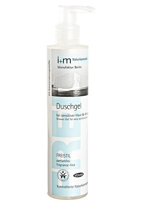 FREISTIL parfümfrei Duschgel, sensitiv, Körperpflege, i+m Naturkosmetik, 200ml