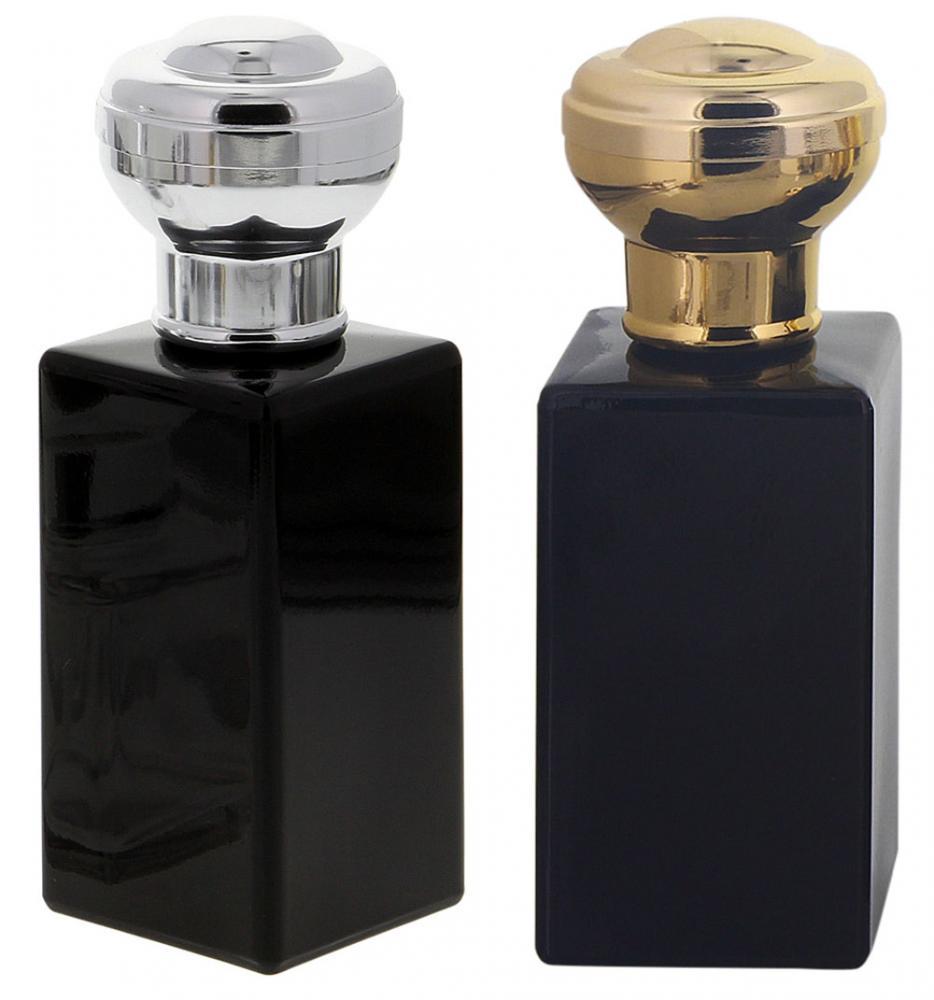 Flakon für Parfüm 100 ml, Flacon Kosmetex kubischer Pumpzerstäuber
