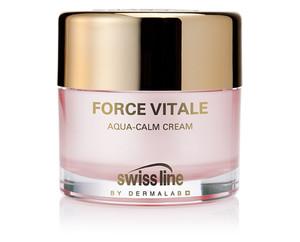 Swiss line Cell Shock Force Vitale,Aqua-Calm Cream 50ml normale,trockene u.empfindliche Haut schützt gegen Hautalterung