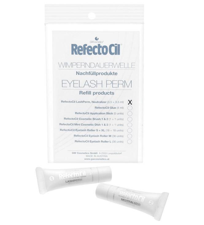 RefectoCil Refill Lash Perm und Neutralizer für Wimperndauerwelle, je 3,5 ml