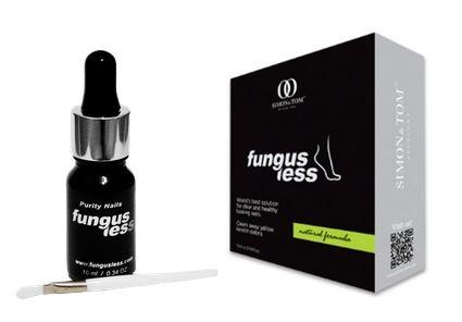FungusLess, Lösung bei Nagelpilz, Nagelpilz Therapie auf natürlicher Basis, 10ml