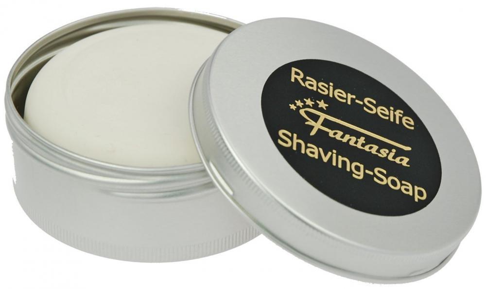 Fantasia Rasierseife 100g Seife für die Rasur in Alu-Dose