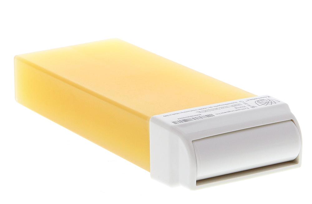Kosmetex Honig Wachspatrone Breit, Enthaarungswachs, Warmwachs, heiss wachs, Körperpflege Haarentfernung 1 Stück