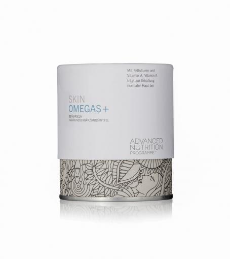 ENVIRON- Skin Omegas plus,60 Kapseln Nahrungsergänzungsmittel mit Fettsäuren und Vitamin A.