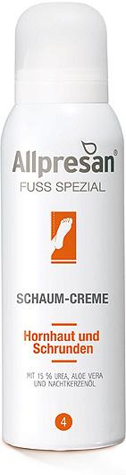 Allpresan Fuß Spezial Nr 4 Schaum-Creme, 15% Urea, Praxisware nur für Gewerbekunden 300 ml
