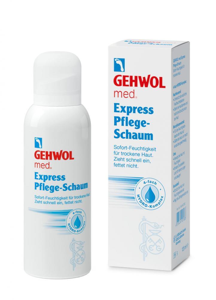 GEHWOL med. Express Pflege-Schaum, 125 ml