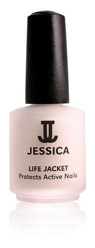 Life Jacket Jessica, Unterlack Kur behandelt speziell brüchige, einreißende Nägel, 14,8ml
