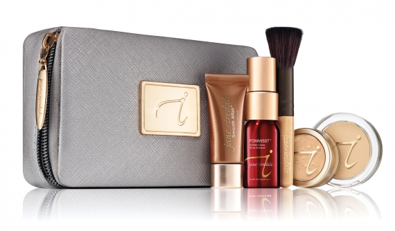 Starter Kit - medium light, medium oder medium dark, Coffret de départ , mit Kosmetiktasche, jane iredale medium light-Warm Sienna