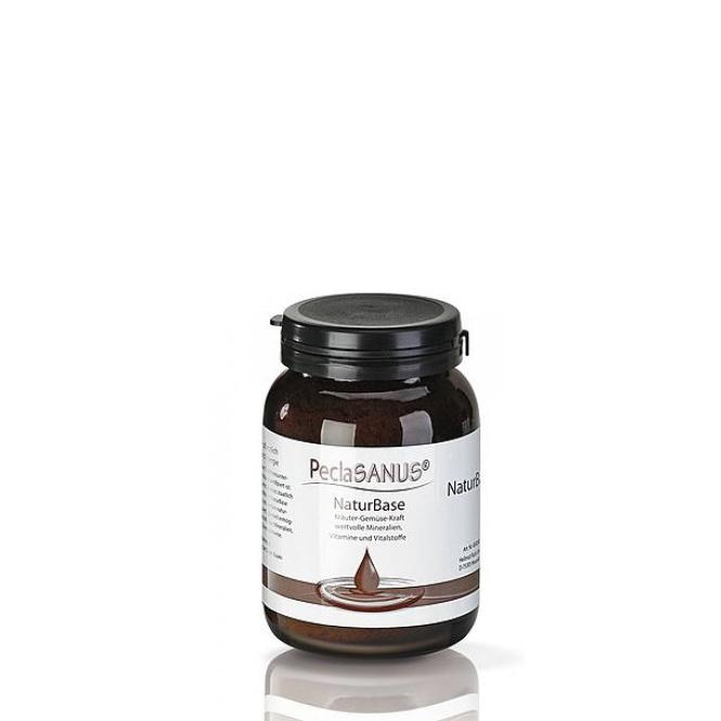 PeclaSANUS NaturBase, basenbildendes Lebensmittel, Granulat gegen Übersäuerung, RUCK, 160 g