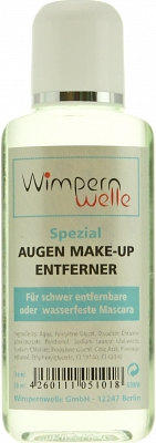Wimpernwelle Augen Make-Up Entferner für schwer entfernbare o. wasserfeste Mascara, 50ml