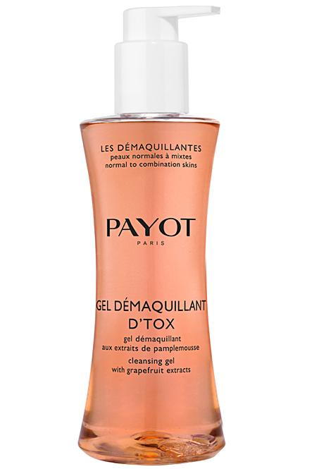 PAYOT Gel Démaquillant D Tox, Reinigungsgel für Mischhaut bis ölige Haut, Les Démaquillantes, 400 ml