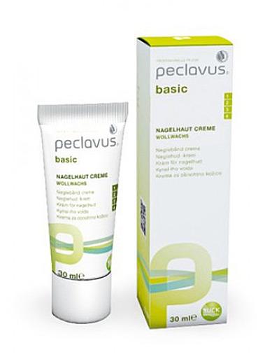 Peclavus basic Nagelhaut Creme Nagelhautpflege mit Wollwachs, 30ml
