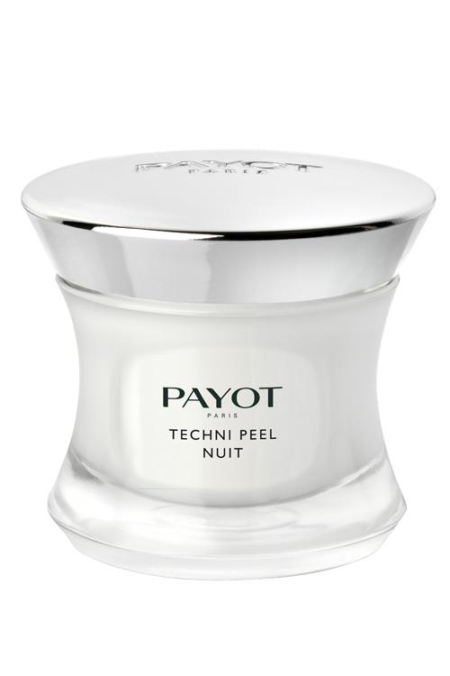 PAYOT Techni Peel Nuit, Peeling Nachtpflege, Optimiert Ihre Haut während der Nacht, Techni Liss, 50 ml