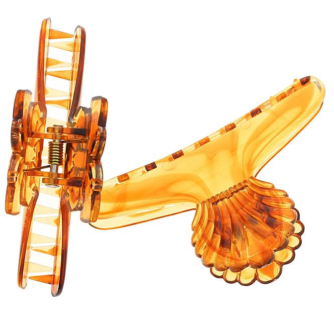 Abteilklammern, Haarklammern, 2 Stck. mit Schmetterling und Muschelgriff