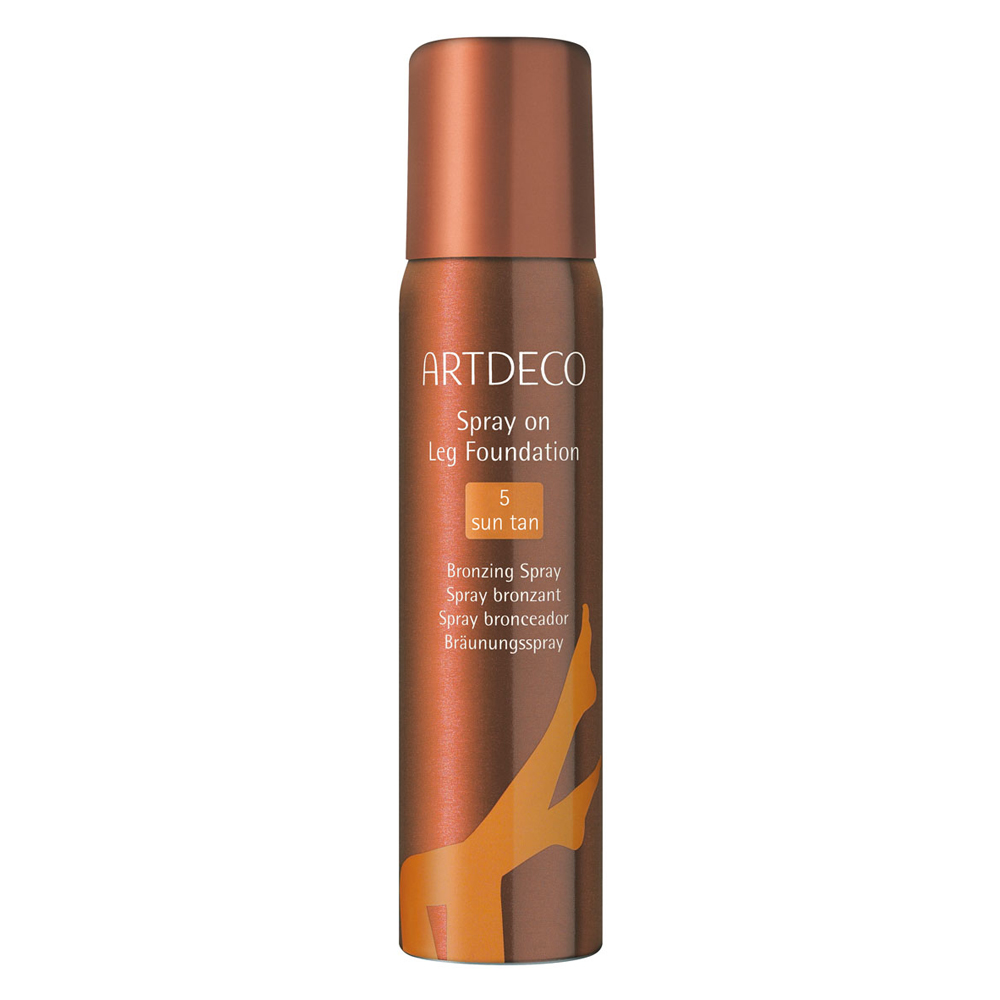 Bronzing Spray on Leg Foundation, 5, sun tan Bräunungsspray für die Beine, Artdeco