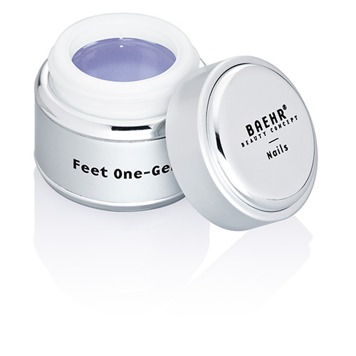 Baehr Feet One-Gel Fussnagel Gel mit Clotrimazol, speziell für Zehennägel, Nagelgel, 15ml