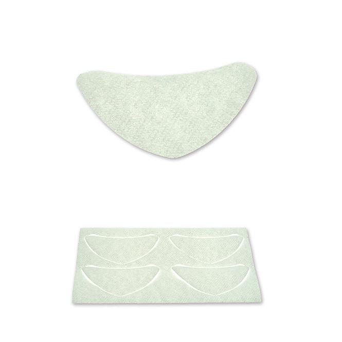 BINACIL Hautschutzblättchen, Schutz vor Hautverfärbungen, Wimpernwelle, 100 Stück 1 Packung