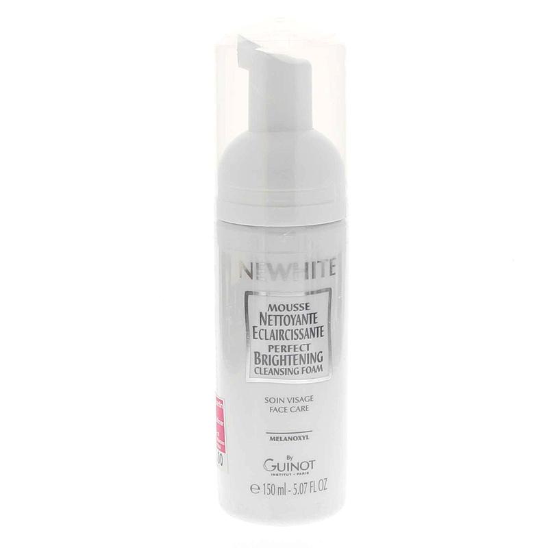 Newhite Mousse Nettoyante, Reinigungsschaum Pigmentflecken, Altersflecken GUINOT, 150ml