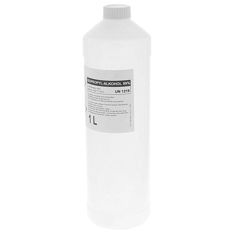 Alkohol, Isopropanol 99% Isopropylalkohol, IPA 99 Prozent 1 Liter
