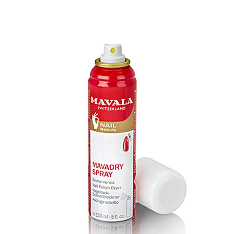 MAVALA Mavadry Spray, Nagellack-Schnelltrockner macht Nägel schneller trocken, 150 ml