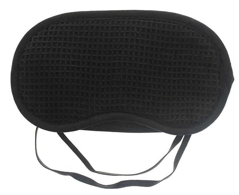 Schlafmaske aus Baumwolle, Kosmetex Schlafbrille Augenmaske als Schlafhilfe