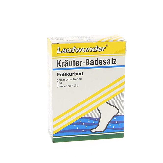 Laufwunder Kräuter-Badesalz, Fußbad bei überanstrengten und verhornten Füßen 250 g