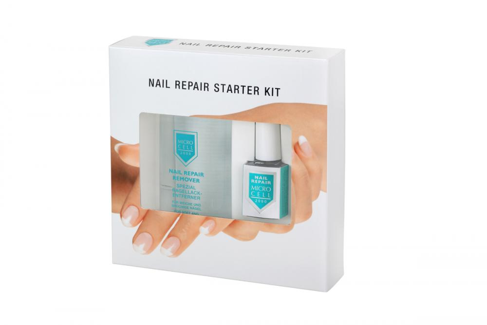 Nail Repair Starter Kit, -Nail Repair Remover 100 ml, Nail Repair 12 ml