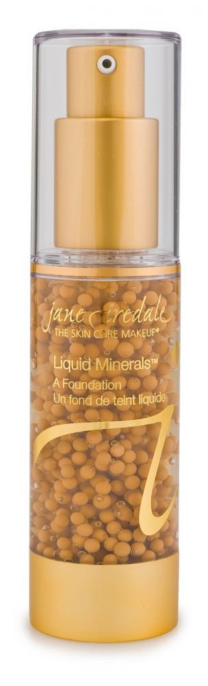 Liquid Minerals, Latte , Make up mit Hyaluron Feuchtigkeitspflege, Anti Aging, jane iredale