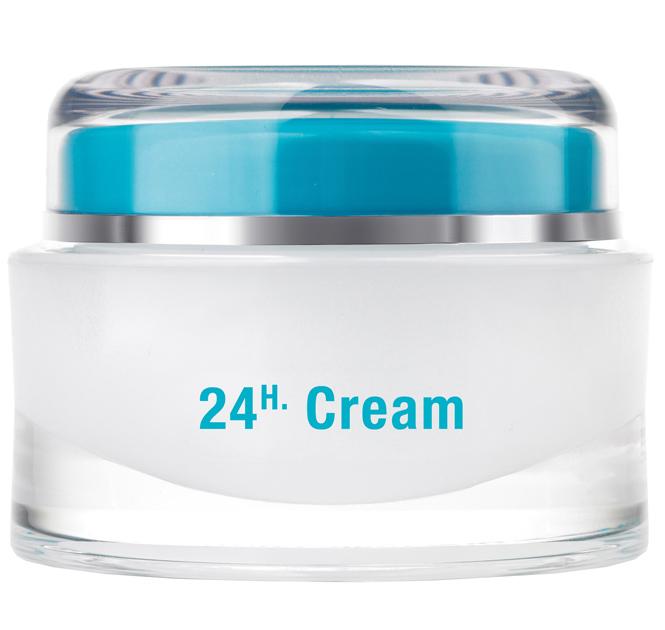 QMS 24H Creme, Nachtcreme, Tagescreme Gesichtspflege Creme mit Vitamin A, 50ml