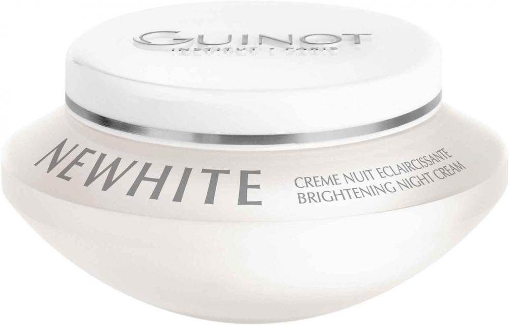Newhite Creme Nuit Eclaircissante, Nachtcreme Pigment, Altersflecken GUINOT, 50ml