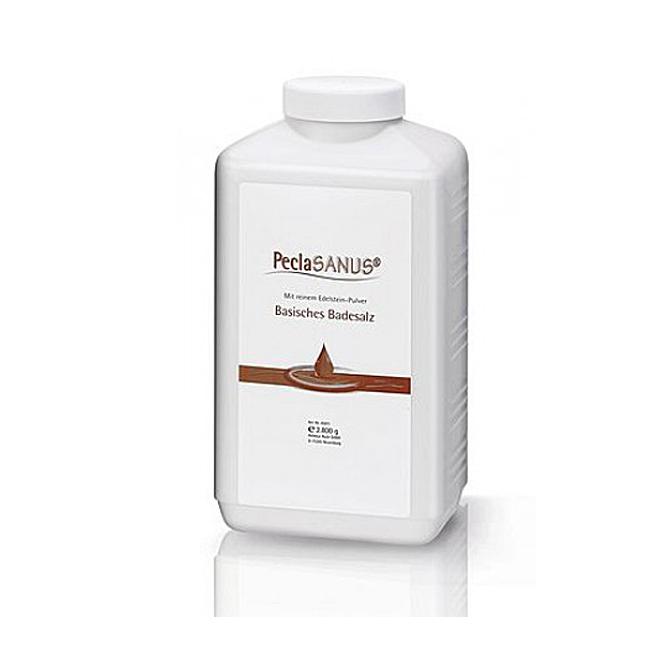 PeclaSANUS Basisches Badesalz für Basenbäder, Basensalz, Badezusatz, Ruck 2800 g
