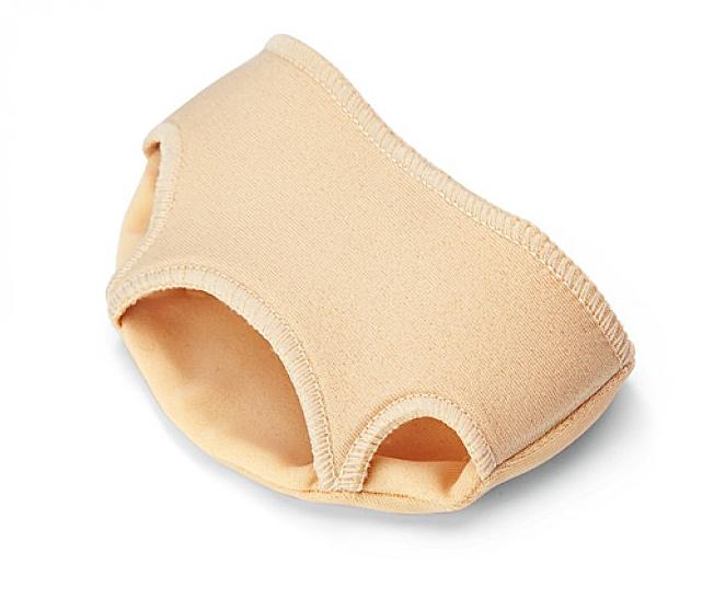 RUCK silc Vorfußkissen aus Silikon Vorfußpolster mit zwei Zehenschlaufen Gr. 1 - Klein