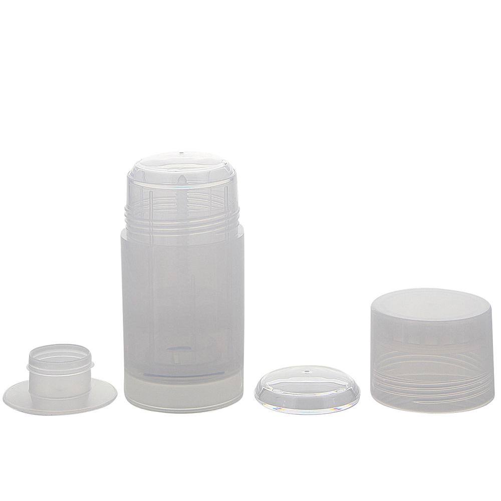 Kosmetex Deo Stick Flasche 75ml, leer, Kunststoff, nachfüllbar, für selbsthergestellte Deos, tropfsichere Konsistenzen, 1 Stück 1 Stück