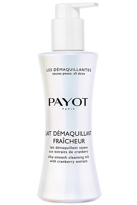 PAYOT Lait Démaquillant Fraîcheur, Reinigungsmilch für normale Haut, Les Démaquillantes, 200 ml