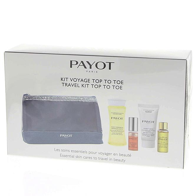 Payot Reise Set Kit Voyage Top To Toe Pflegeset komplett, mit Hyaluronsäure