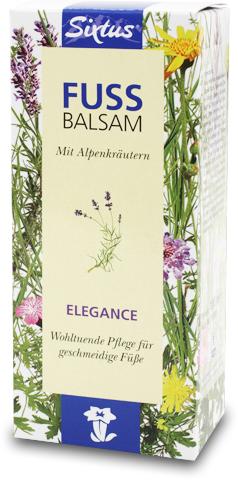 Sixtus Fußbalsam Elegance, Balsam, für die tägliche Fußpflege