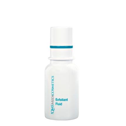 QMS Exfoliant Fluid, Fruchtsäure Peeling, 30ml Pumpspender Gesichtspeeling , 30ml