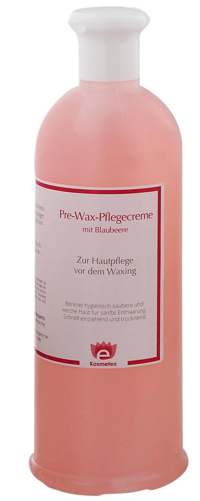 Kosmetex Pre-Wax Hautreiniger Heidelbeere, Gel zur Waxing Zuckern Enthaar Wachsen Vorbereitung, 500ml