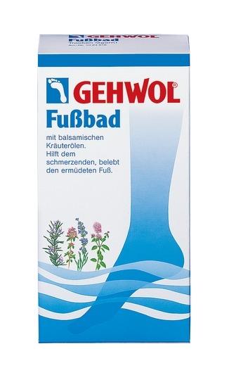 GEHWOL Fußbad mit balsamischen Kräuterölen belebendes Badekonzentrat, 400 g