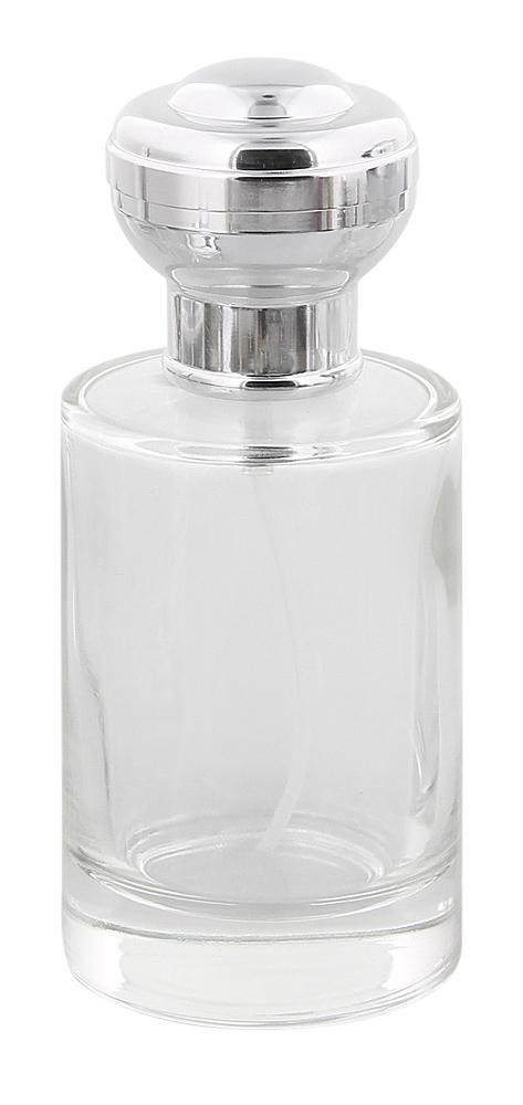 Runder Glas-Zerstäuber, m. großer Kugelkappe Kosmetex Parfüm-Flakon, 100 ml