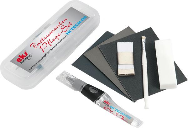 Instrumenten Pflegeset, Fußpflege, Kosmetik, Maniküre, Medizin, Reinigungsset 8 teilig, Zangen, Scherrmesser Öl Dosier Stift