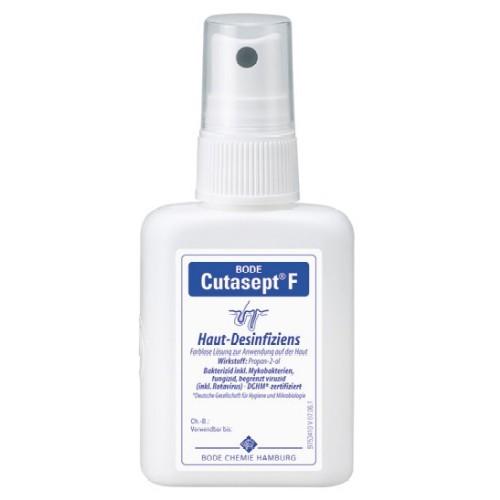 Cutasept F Hautdesinfektion, Alkoholisches Hautantiseptikum, Haut Desinfektion, Hygiene, 50ml