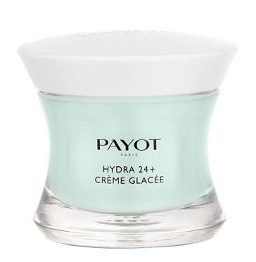 Payot Hydra 24+ Creme Glacee, Gesichtspflege,Feuchtigkeitspflege für normale, trockene, dehydrierte Haut, 50ml