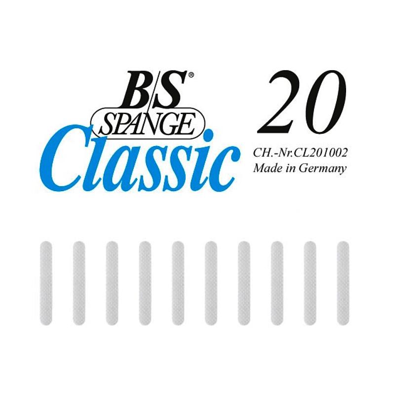 B/S-Spange CLASSIC, 20 mm zur Behandlung eingewachsener Nägel