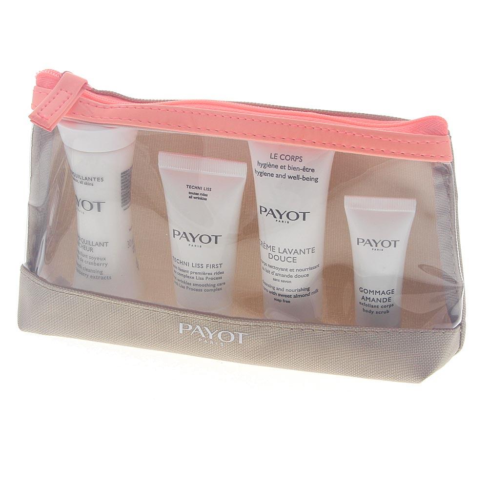 PAYOT Kit Voyage Top To Toe Travel Kit vier Produkte mit garantiertem Lifting-Effekt