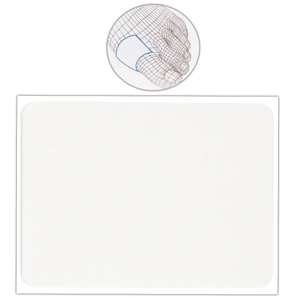 Kosmetex Dickes Schutzpflaster, Pflaster 9x7 cm, 3mm dick Selbstklebender Druckschutz, individuell zuschneidbar