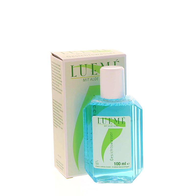 Lueme Gesichtswasser mit Aloe Vera Gesichtslotion, Facial Tonic 100 ml