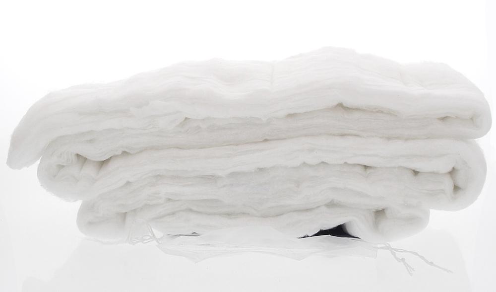 Baumwolle aus langen Fasern, Watte gefaltet, für Kosmetik, Fuß, medizinische Zwecke, langfasrig Kosmetex, 1 Packung