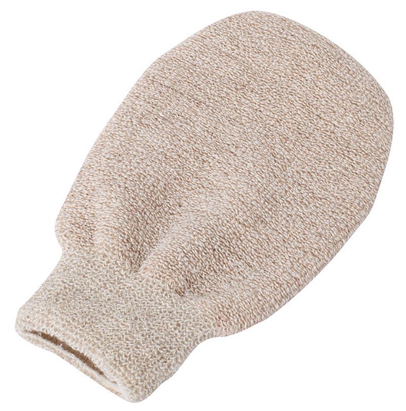 Massagehandschuh Trocken und Feuchtmassage, Kosmetex, 30% Hanf, 25% Leinen, 25% Baumwolle, 20% Kupfer